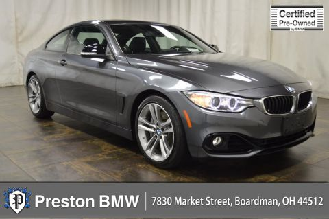 Certified Pre-Owned 2014 BMW 4 Series 435i RWD 2D Coupe
