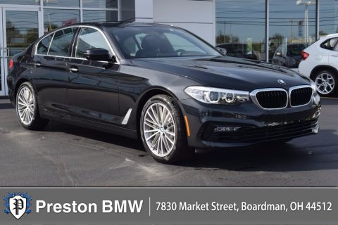 New 2018 BMW 5 Series 530i With Navigation & AWD