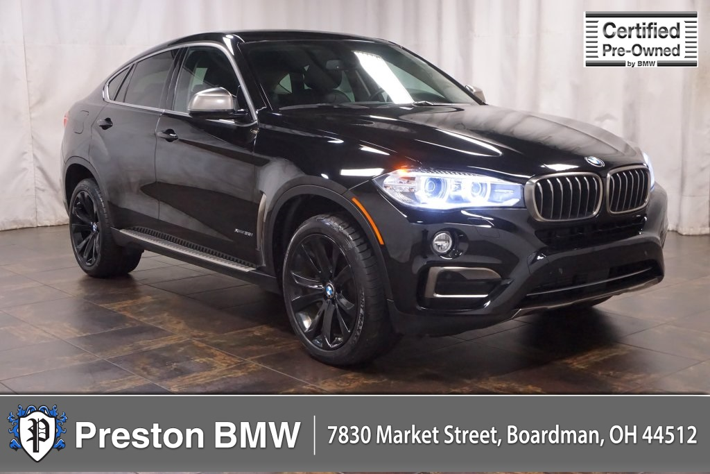Certified Pre Owned 2016 Bmw X6 Xdrive35i