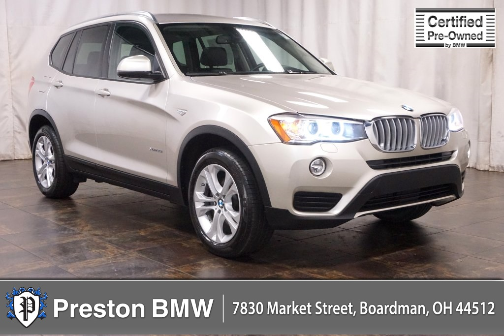 Certified Pre-Owned 2015 BMW X3 xDrive35i