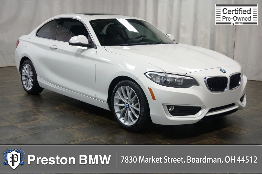 Certified PreOwned 2014 BMW 2 Series 228i 2D Coupe in Boardman